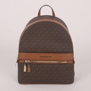 Michael Kors Medium Kenly 35T0GY9B2B Backpack In Brown Acorn