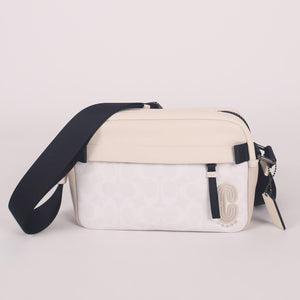 (AS IS) Coach Edge 2338 Crossbody Bag In Chalk Steam