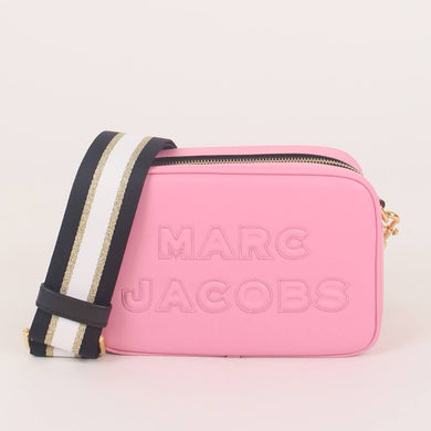 Marc Jacobs Flash M0014465 Leather Crossbody Bag In Pale Pink