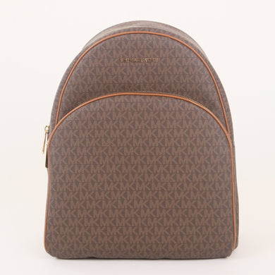 Michael Kors Abbey Large Backpack 35F8GAYB7B In Brown Acorn
