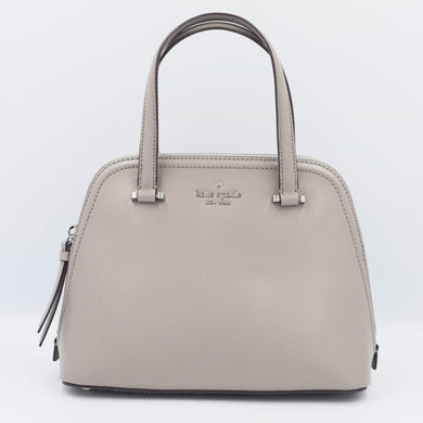 kate spade patterson drive small dome satchel WKRU6058 In Soft Taupe