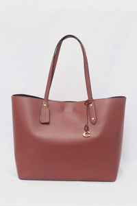 Coach Central Tote 39 Bag 76730 In Vintage Mauve