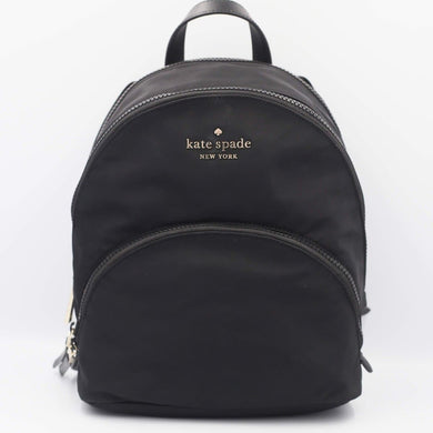 Kate Spade Karissa Nylon Medium Backpack WKRU6586 In Black (001)