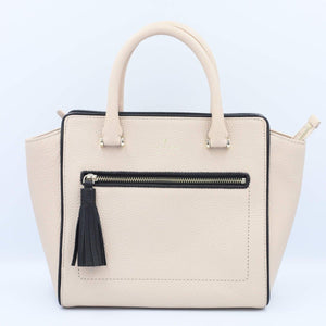Kate Spade Chester Small Allyn WKRU4322 In Warmbeige/Black (195)