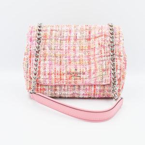 Kate Spade Briar Lane Quilted Tweed Mini Emelyn WKRU6418 Pink Multi (673)