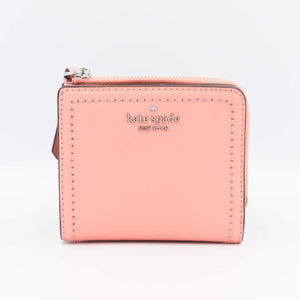 Kate Spade Patterson Drive Small L-Zip Bifold Wallet WLRU5599 In Sunsetdaze