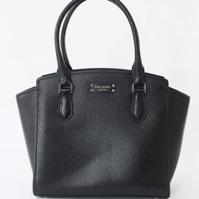Kate Spade Jeanne Medium Satchel Bag WKRU6042 In Black