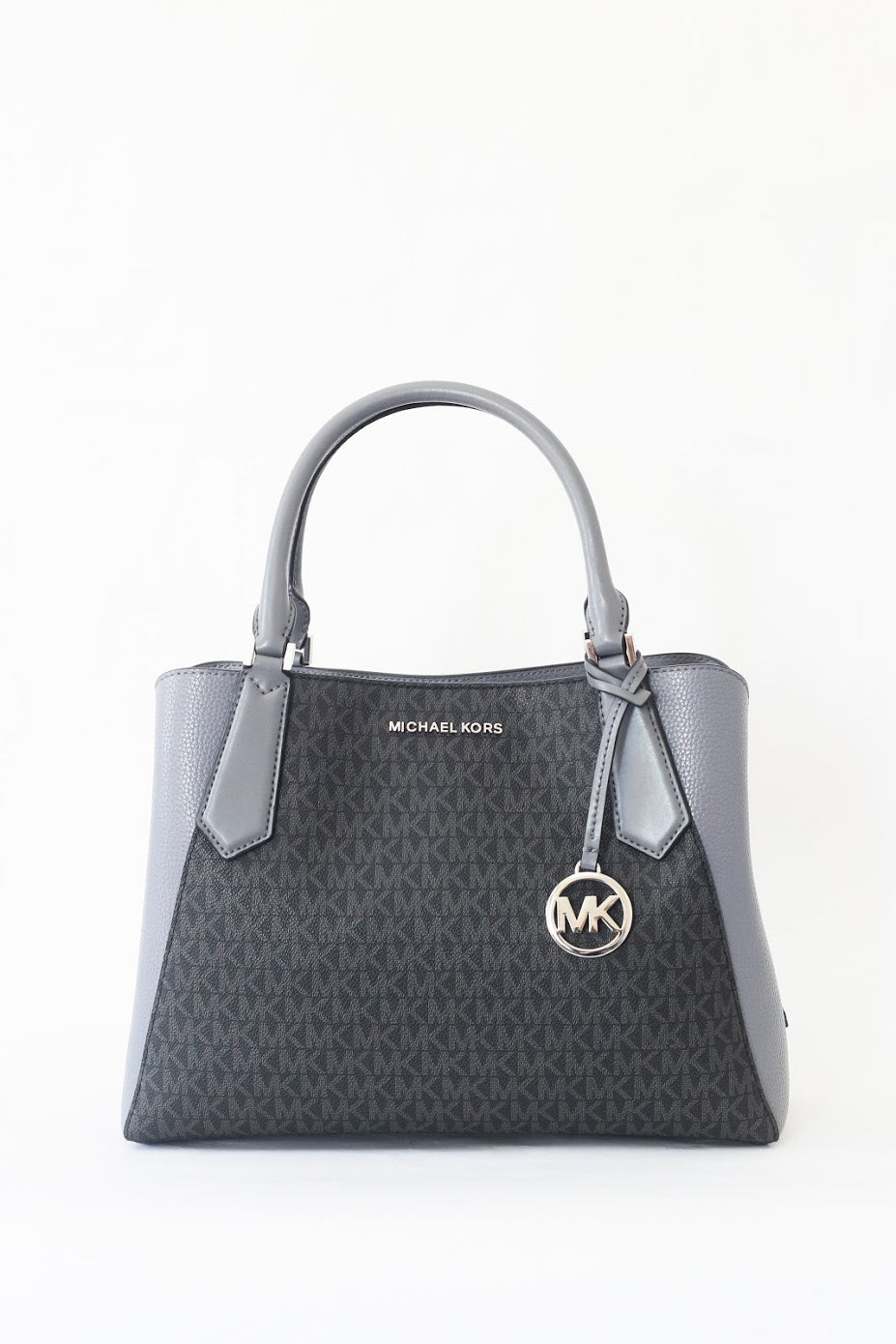 Michel Kors Kimberly Large EW Satchel 35F9SKFS7V (Heather Grey Multi)