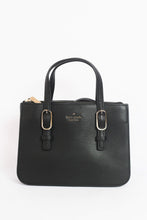 Load image into Gallery viewer, Kate Spade Connie Medium Triple Gusset Satchel WKRU5990 In Black