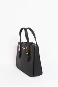 Kate Spade Connie Medium Triple Gusset Satchel WKRU5990 In Black