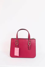 Load image into Gallery viewer, Kate Spade Connie Small Triple Gusset Satchel WKRU5993 In Rhubarb Tart