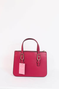Kate Spade Connie Small Triple Gusset Satchel WKRU5993 In Rhubarb Tart