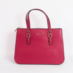 Kate Spade Connie Medium Triple Gusset Satchel WKRU5990 In Rhubarbtart