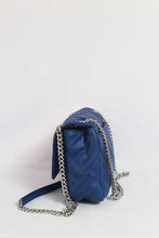 Load image into Gallery viewer, Michael Kors Peyton Medium Shoulder Flap 35S9SP6F2T In Cobalt