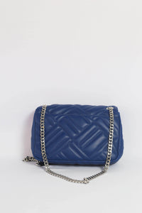 Michael Kors Peyton Medium Shoulder Flap 35S9SP6F2T In Cobalt