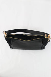 Coach Marlon Hobo Shoulder Bag F79995 IMBLK In Black