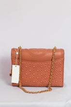 Load image into Gallery viewer, Tory Burch Fleming Convertible 43833 Shoulder Bag In Tramonto