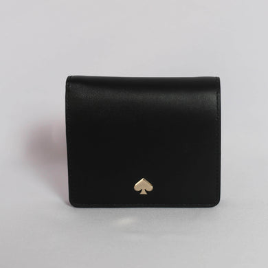 Kate Spade Nadine Small Bifold Wallet WLRU5595 In Black