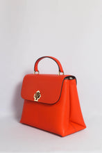 Load image into Gallery viewer, Kate Spade Romy Medium Top Handle Satchel PXRUA633 In Fire Lily