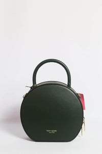 Kate Spade Andi Canteen PXRUA186 Crossbody Bag In Deep Evergreen