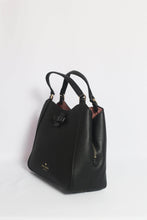 Load image into Gallery viewer, Kate Spade Talia Small Triple Compartment Satchel WKRU6342 In Black