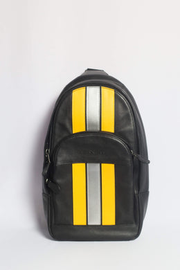 Coach Houston Pack With Varsity Stripes F83270 QBPHV In Black
