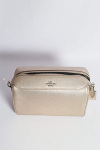 Coach Metallic Bennett Crossbody Bag F80098 SVPL In Platinum