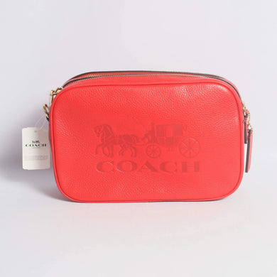 Coach Jes Crossbody F75818 IMBRD In Bright Red