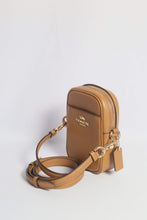 Load image into Gallery viewer, Coach Phoebe Crossbody Bag F80589 IMLQD In Light Saddle