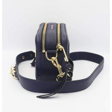Load image into Gallery viewer, Marc Jacobs The Softshot 21 Crossbody Bag In Navy