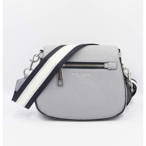 Marc Jacobs Small Gotham Nomad Crossbody Bag In Rock Grey