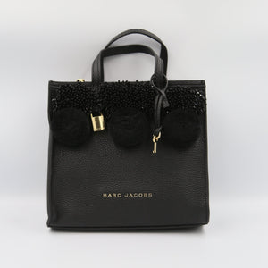 Marc Jacobs Mini The Grind M0013368 Tote Bag In Black