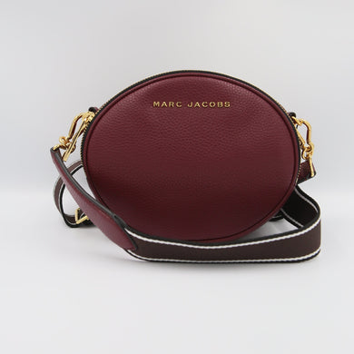 Marc Jacobs Rewind Oval M0016411 Crossbody Bag In Mulled Wine
