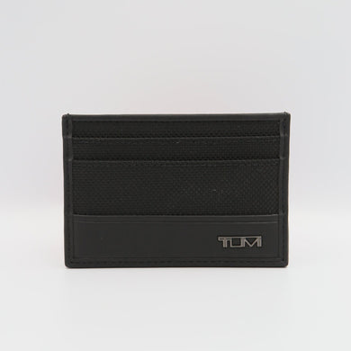 Tumi Slim 121056-1041 Card Case In Black
