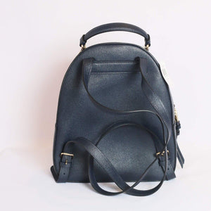 Coach Crossgrain Leather Jordyn Backpack F76624 In Midnight