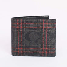 Load image into Gallery viewer, Coach 3 In 1 Wallet With Signature Shirting Plaid Print F88071 In Black Red Multi