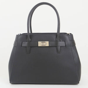 Kate Spade Medium Lucia WKR00332 001 Satchel Bag In Black