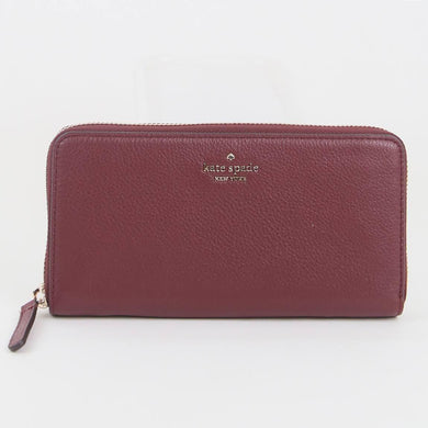Kate Spade Large Jackson WLRU5833 Continental Wallet In Cherrywood