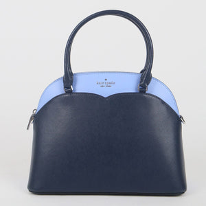 Kate Spade Medium Payton Colorblock WKRU7087 856 Dome Satchel Bag In Nightcap Multi