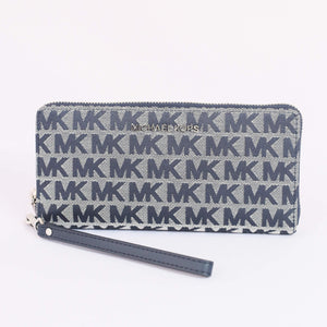 Michael Kors Jet Set Travel Large Travel Continental 35H9STVE7J In Navy Multi