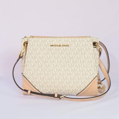 Michael Kors Nicole Large Triple Compartment Crossbody Bag 35H9GNIC9B In Ballet