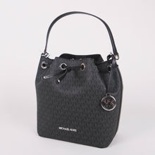 Load image into Gallery viewer, Michael Kors Medium Eden 35S0SXEL6V Bucket Crossbody Bag In Black
