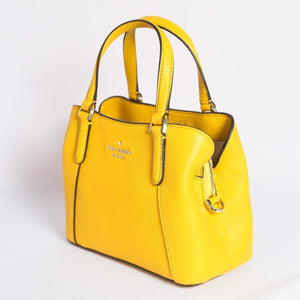 Kate Spade Jackson Small Triple Compartment Satchel WKRU6258 In Yellow