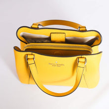 Load image into Gallery viewer, Kate Spade Jackson Small Triple Compartment Satchel WKRU6258 In Yellow