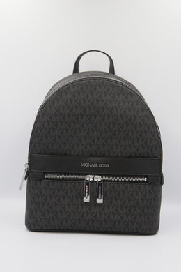 Michael Kors Kenly 35T0SY9B6B Medium Backpack In Black