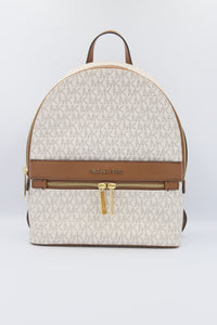 Michael Kors Medium Kenly 35T0GY9B2B Backpack In Vanilla