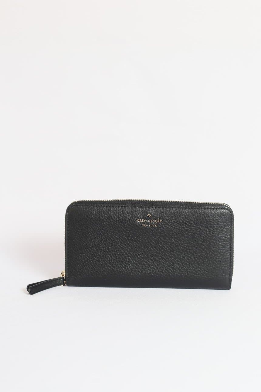 Kate Spade Cameron Large Continental Wallet WLRU5448 (Black)