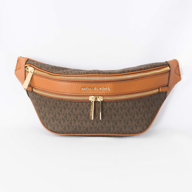 Michael Kors Kenly Medium Waist Pack 35T9GY9N8B In Brown Acorn