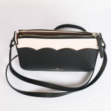 Load image into Gallery viewer, Kate Spade Magnolia Street Small Top Zip Crossbody WLRU5776 In Black/Dolce