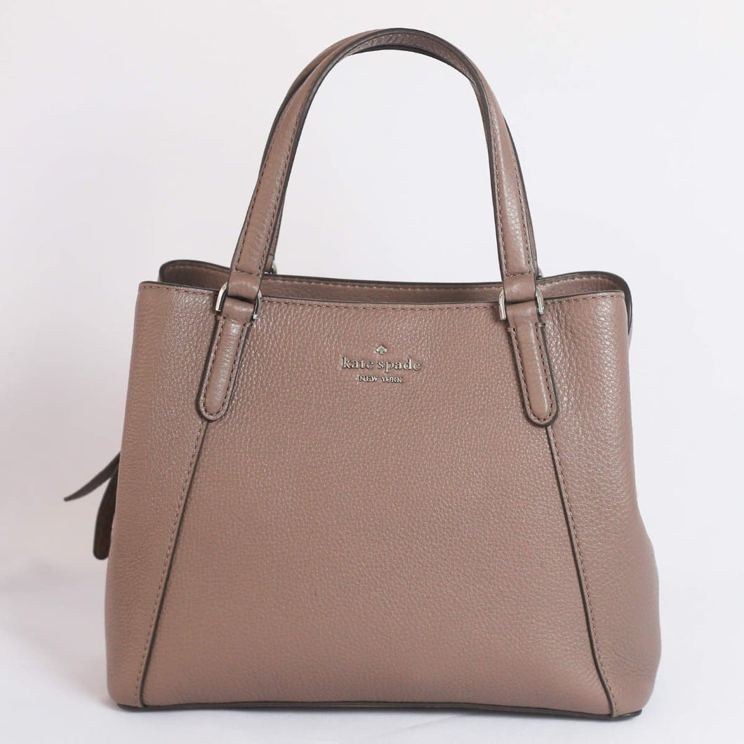 Kate Spade Jackson Medium Triple Compartment Satchel WKRU6040 In Brownstone